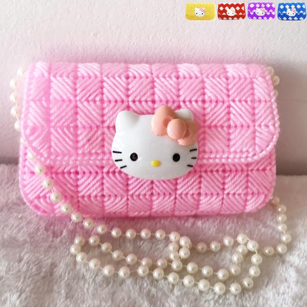 立体十字绣新款客厅毛线绣纸巾盒收纳iPhone苹果手机袋钱包拎挎包