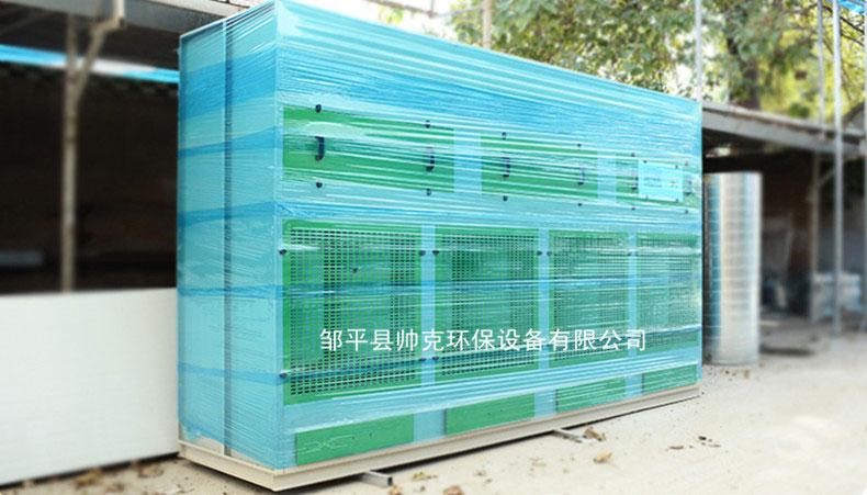 环保型传梦噴漆櫃子订做水帘柜喷漆箱干式打磨櫃立式吸尘柜脉冲式06