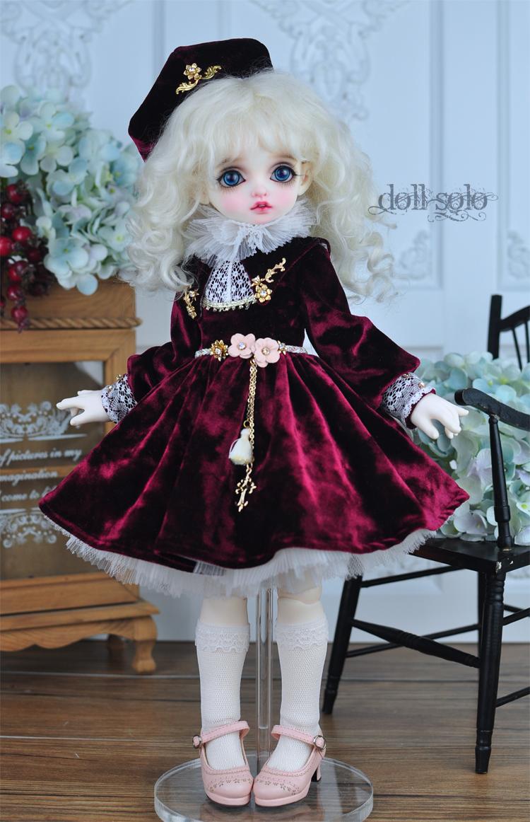 Платье Doll Solo для БЖД