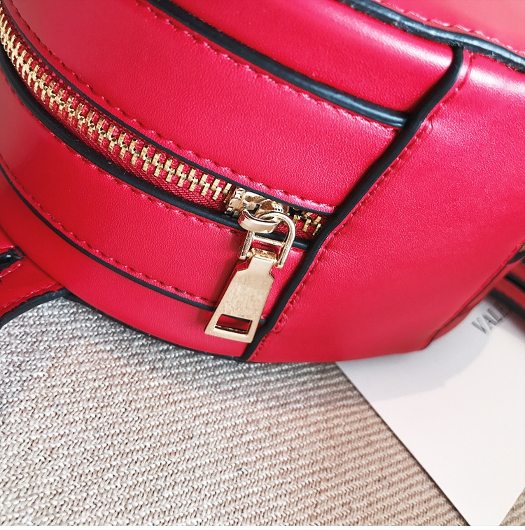 Korea PUShoulder Bags(red)NHSK0184-red