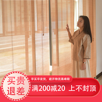 Bamboo Curtain Curtain Bamboo shutter door curtain in the partition lifting bamboo curtain hanging curtain protection