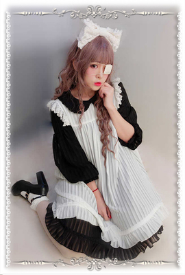 taobao agent 【Infanta. Infanta】Spot Lolita*Pure Color Baby Sweatshirt Set*Two-piece suits can be bought separately in one size