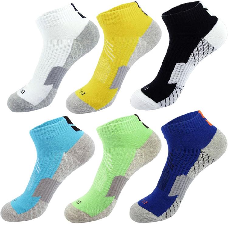 3双 薄款纯棉夏季篮球袜子 短筒低帮吸汗防臭透气精英运动素色
