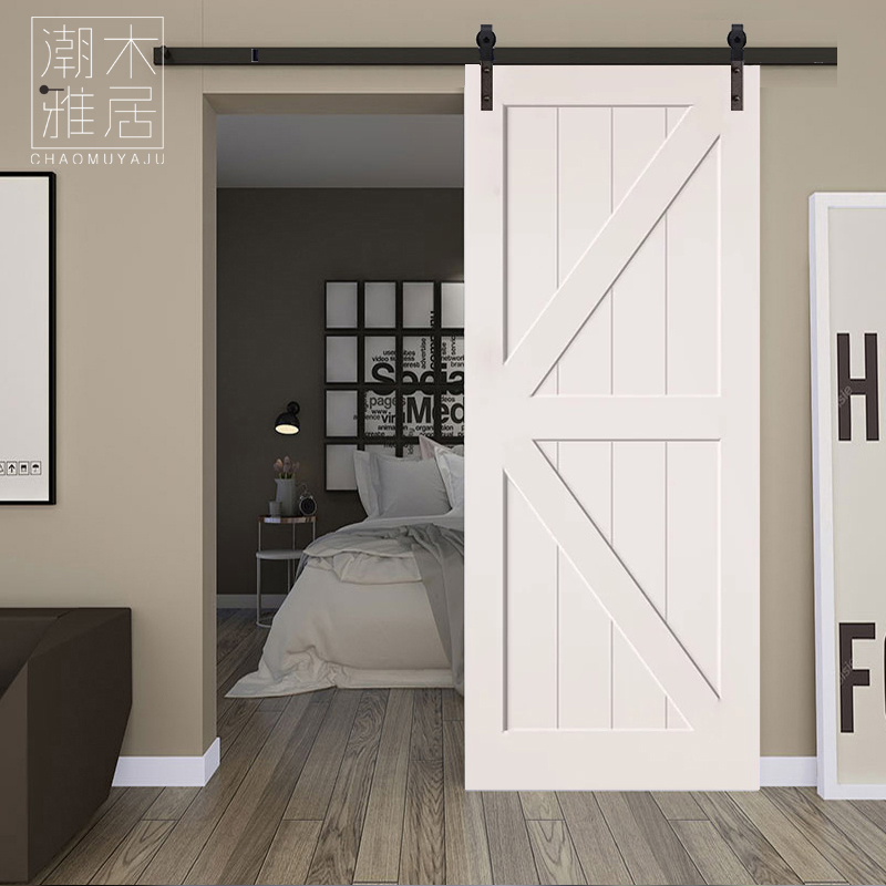 Barn Door Kitchen Door Study Door Sliding Door Sliding Door Color Door  Chengdu Solid Wood Door