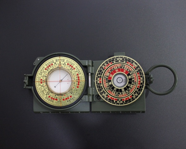 Feng Shui Chinese Metal Round Mini Compass Luopan for Outdoor Sport Camping