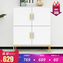 Nordic Dining cabinets Simple modern restaurant living room simple small household narrow storage