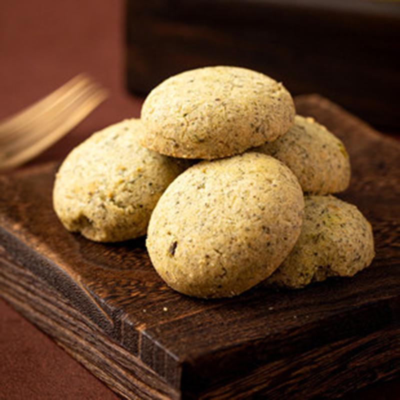 酥饼脆饼干葱香味100克广式零食糕点