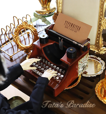 taobao agent 8 points 6 points 4 points 3 points Uncle BJD doll house photo props mini accessories simulation typewriter printer (various