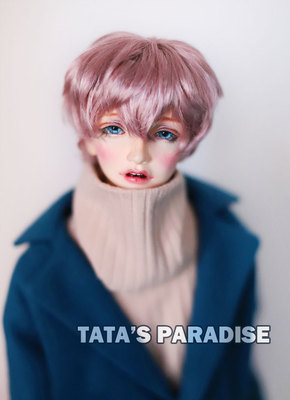 taobao agent 6 points 4 points 3 points Uncle giant baby BJD.MDD baby wig imitation mohair konjac teenager【Soft baa】