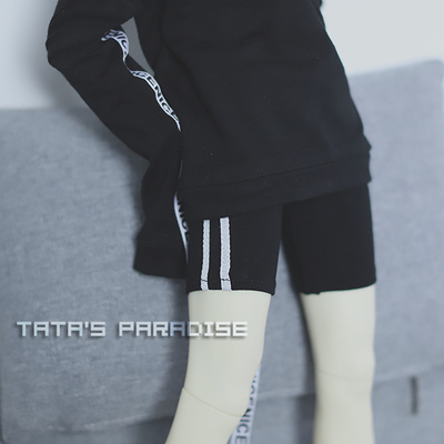 taobao agent 1/4 points and 3 points Uncle BJD baby clothes with pants, leggings, close-fitting two-bar shorts, two colors