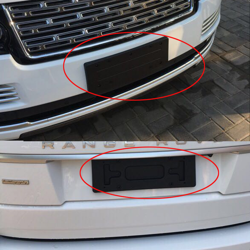 Imported Land Rover Range Rover license plate frame administrative ...