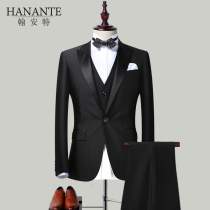 Groom wedding dress suit mens suits Europe and the United States French dress