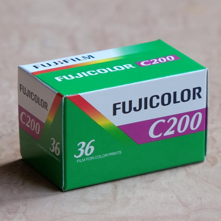 Зазор японский оригинальный FUJI фудзи C200 клей объем 135 цвет отрицательный лист 200 степень фильм 35mm2019 год 05