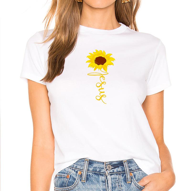 耶穌十字架圖形T恤男原宿基督教宗教印花T恤Tumblr衣服上衣Femme