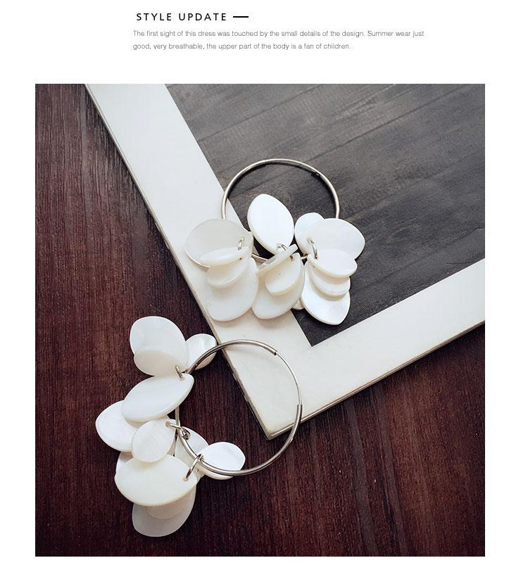 Boucles oreilles femme en Alliage / argent / plaqué or - Le Japon et la Corée du Sud - Ref 1114050 Image 8