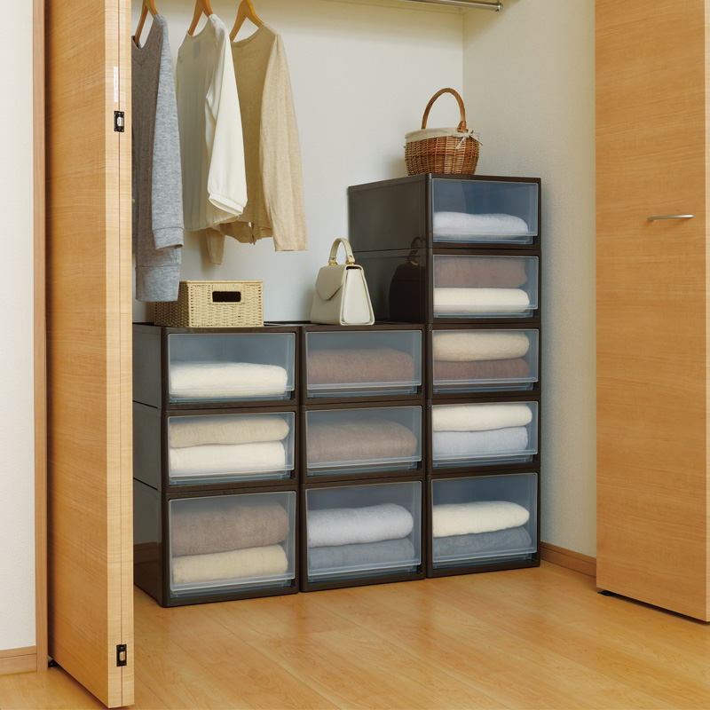 Clearance An Imported Jej Clothing Storage Box Wardrobe Finishing Clothes Plastic Drawer