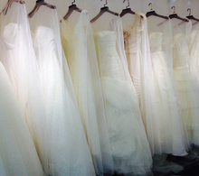 High grade Bag Wedding Dresses, dust cover, wedding sets, encrypt soft net, ten packages.