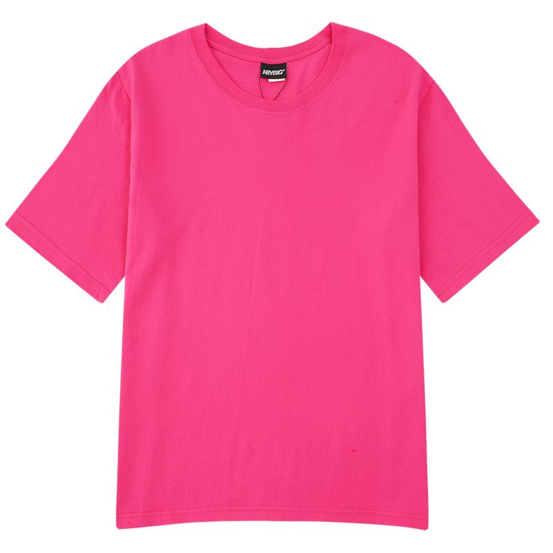 小尼力bf美式重磅纯棉短袖t恤男女基础款 券后14元包邮