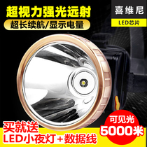 LED headlamps strong light charging induction miner lamp fishing lamp head wear anti-