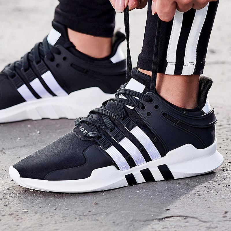finest selection ff029 9c166 Adidas men's shoes 2019 new clover sneakers EQT SUPPORT ADV casual shoes  running shoes