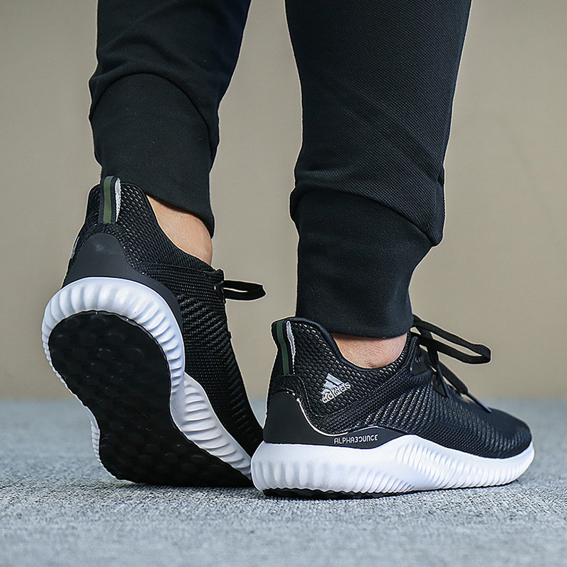 187cd5ad52c7b ... Adidas men s shoes 2019 spring new bounce small coconut mesh breathable  cushioning running shoes BW0538