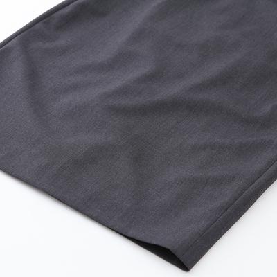 Luo Yi Xia trí tuệ mới OL váy Slim gói hip màu xám không tay đi lại ăn mặc tính khí 8371 váy đầm