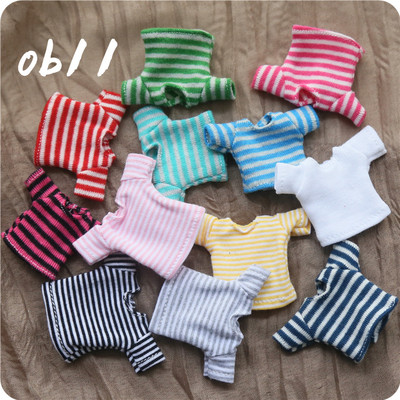 taobao agent ob11 baby clothes 12 points bjd beautiful knot piggy all-match T-shirt long and short sleeve GSC doll clothes free shipping over 58 yuan