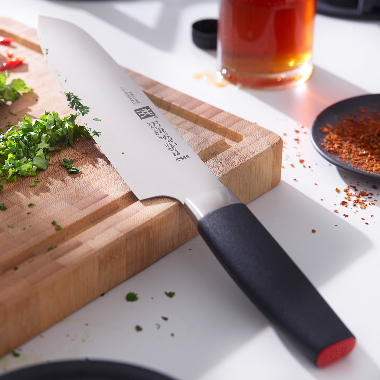 冰锻工艺,轻快升级:厨刀+水果刀 德国 双立人 Select花嫁刀具 2件套
