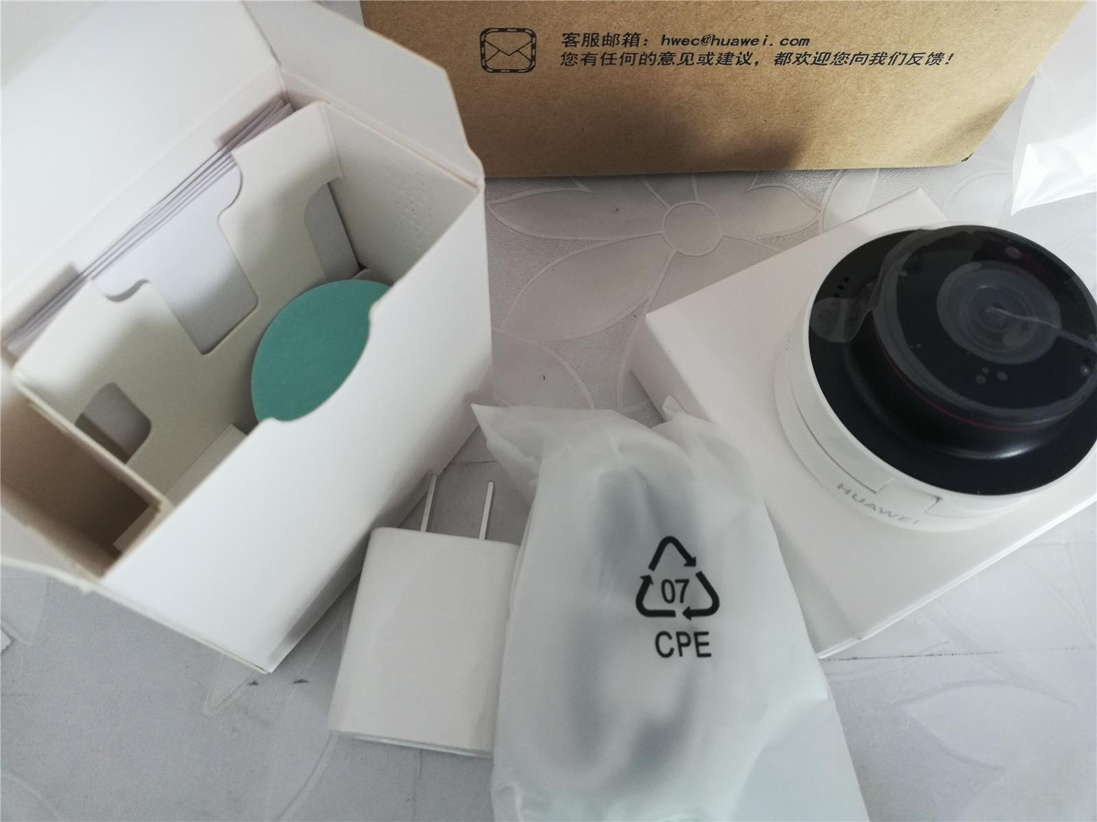 华为CV70安居智能防盗摄像头拆机使用小记