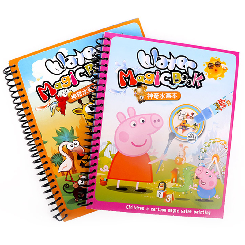 Pig Peggy + Animal World (2 copies of 2 pens)