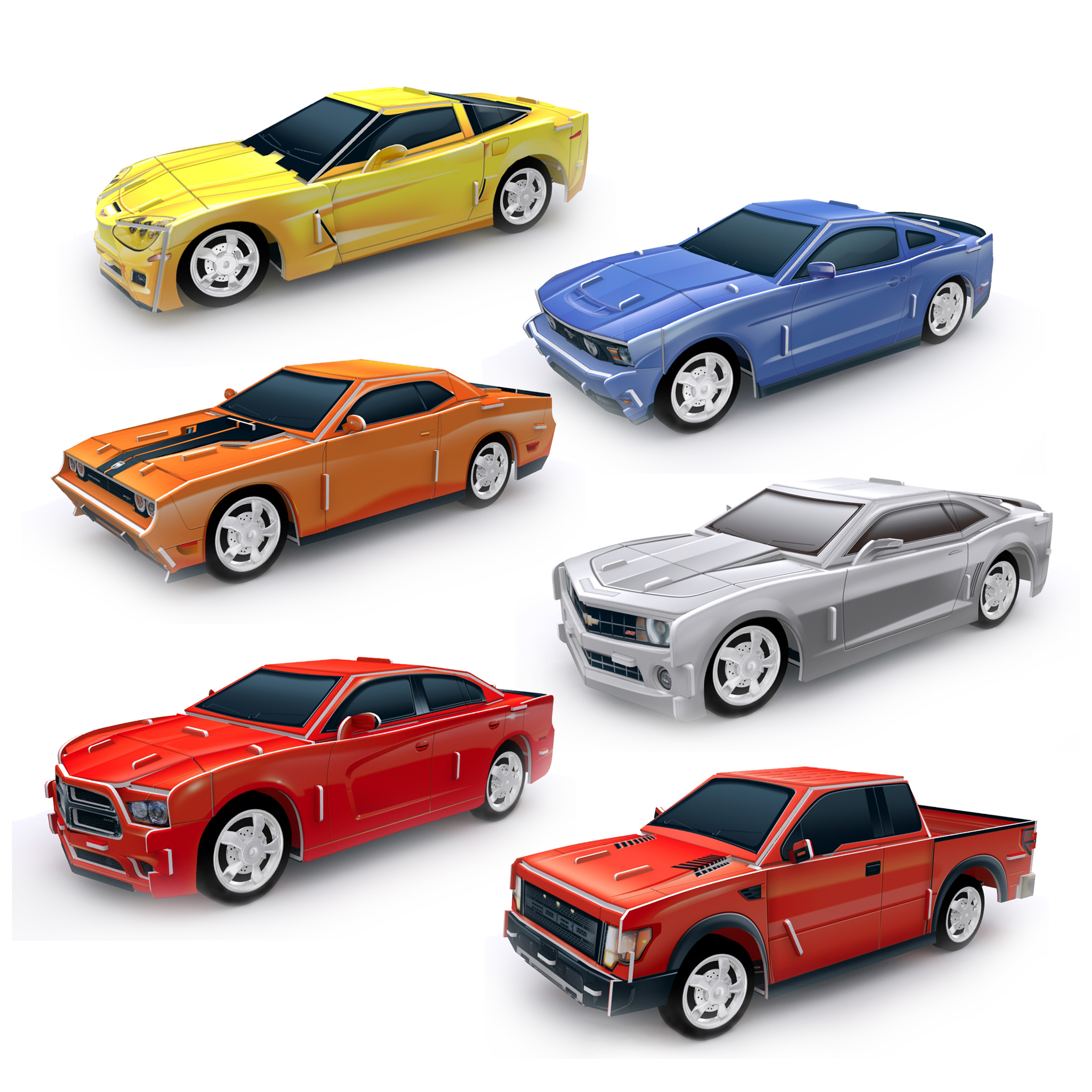 Usd 11 18 Genuine Car Assembly Model Three Dimensional Puzzle