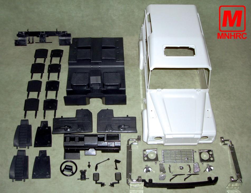 Детали для дистанционного управления Mnhrc  1/10 D90 275mm ABS