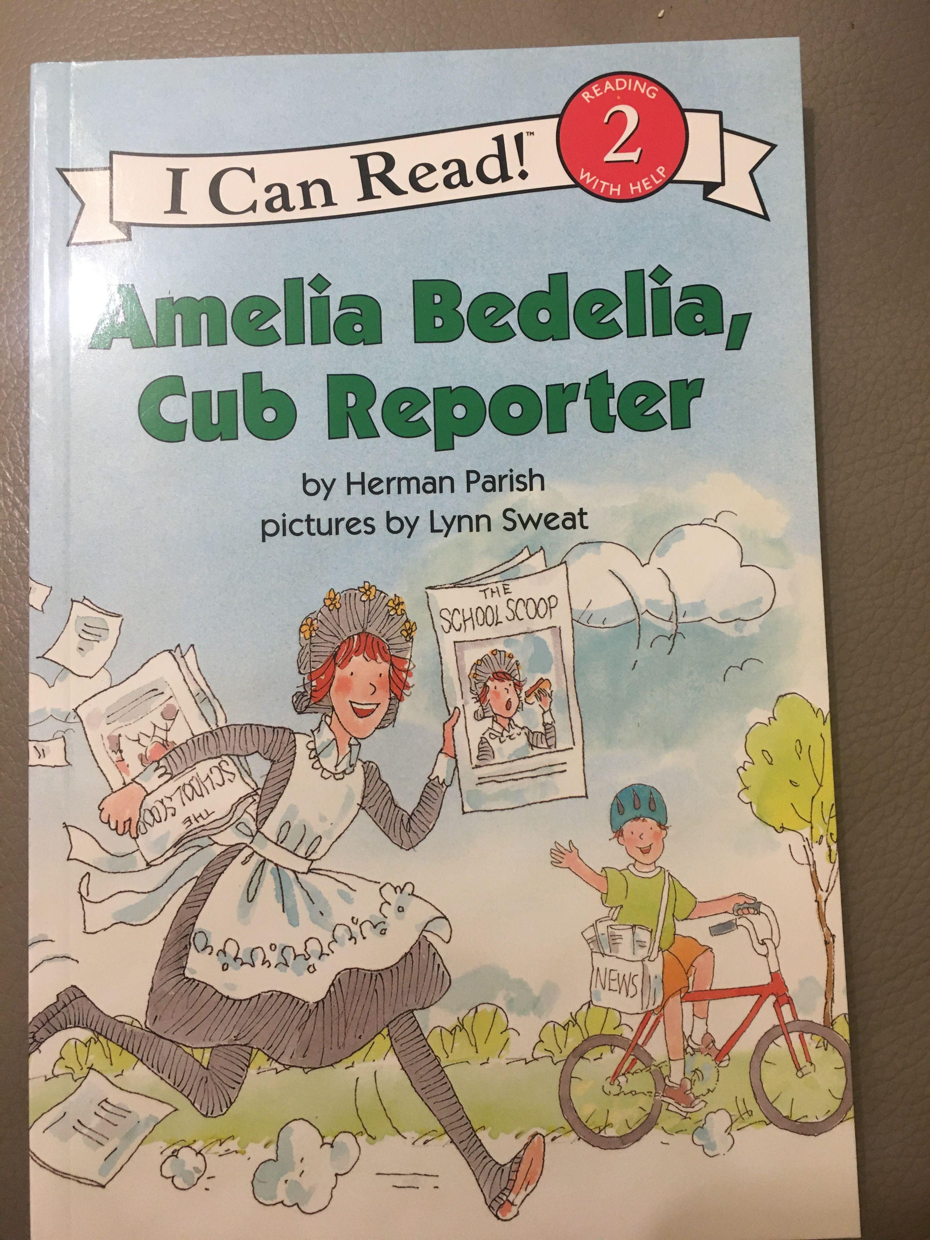 64p英文原版Amelia Bedelia, Cub Reporter (I Can Read Level 2)