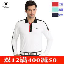 New Golf clothes mens long sleeve t Winter golf suit