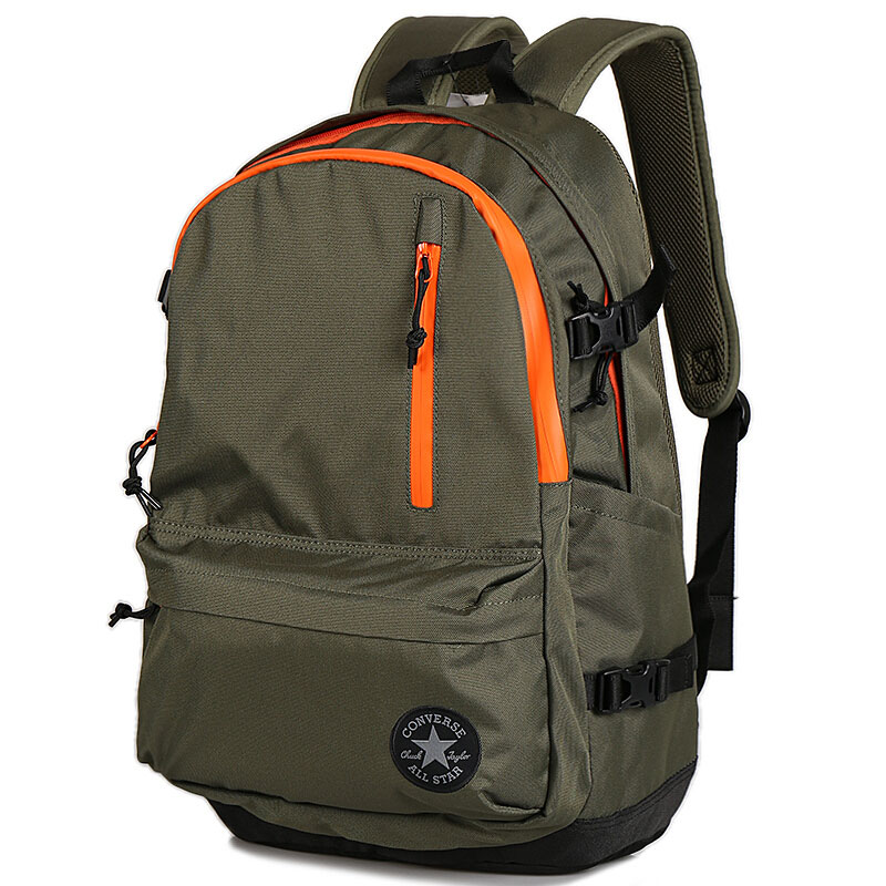dbfe57ae4c2 Converse backpack computer student bag sports bag men and women summer new  10007784-A01-A02-A03
