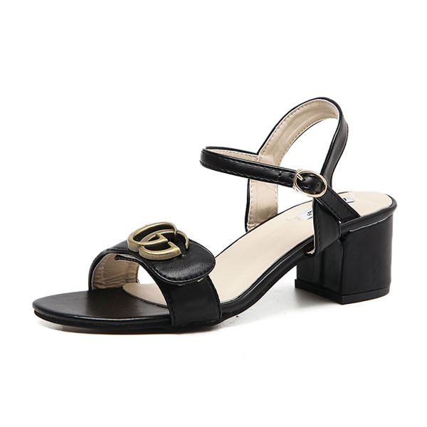Ankle sandals, GG metal logo's main photo