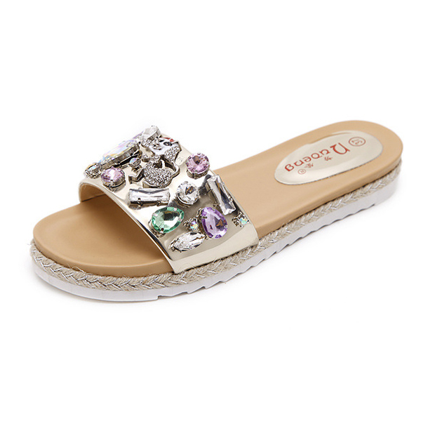 Diamond Thick bottom sandals