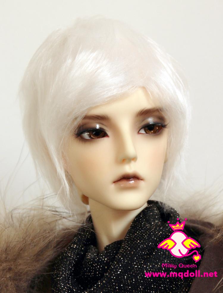 Fur wig for 1//3 1//4 BJD dollfie pink SD MSD DD Lati Luts AI Soom FL DL
