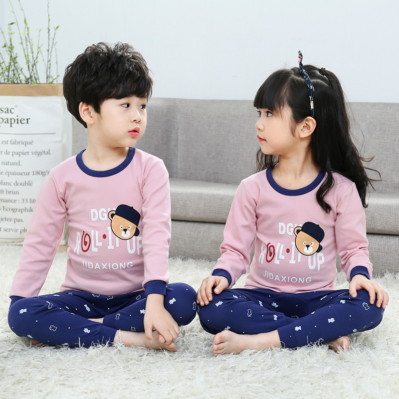 9a700c0bbd Children s underwear set spring and autumn pants Cotton Boys and girls warm  pajamas baby clothes baby. Zoom · lightbox moreview · lightbox moreview ...