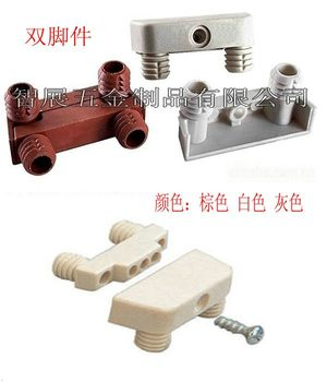 Furniture connector connecting board feet piece of furniture hardware accessories / gifts desk accessories assembly screws