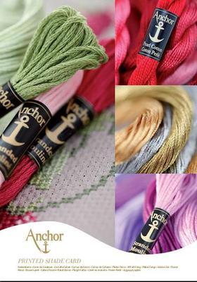 Đức sợi gốc thẻ xanh neo thêu / khâu Aoki rắn dòng 444 và một tiểu chung đầy màu sắc - Công cụ & phụ kiện Cross-stitch
