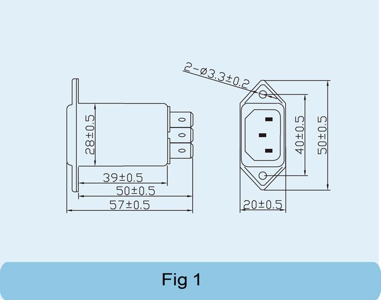 开关插座价格_EMI电源滤波器-IEC插座(A1)系列_厂家_价格_报价-电源网