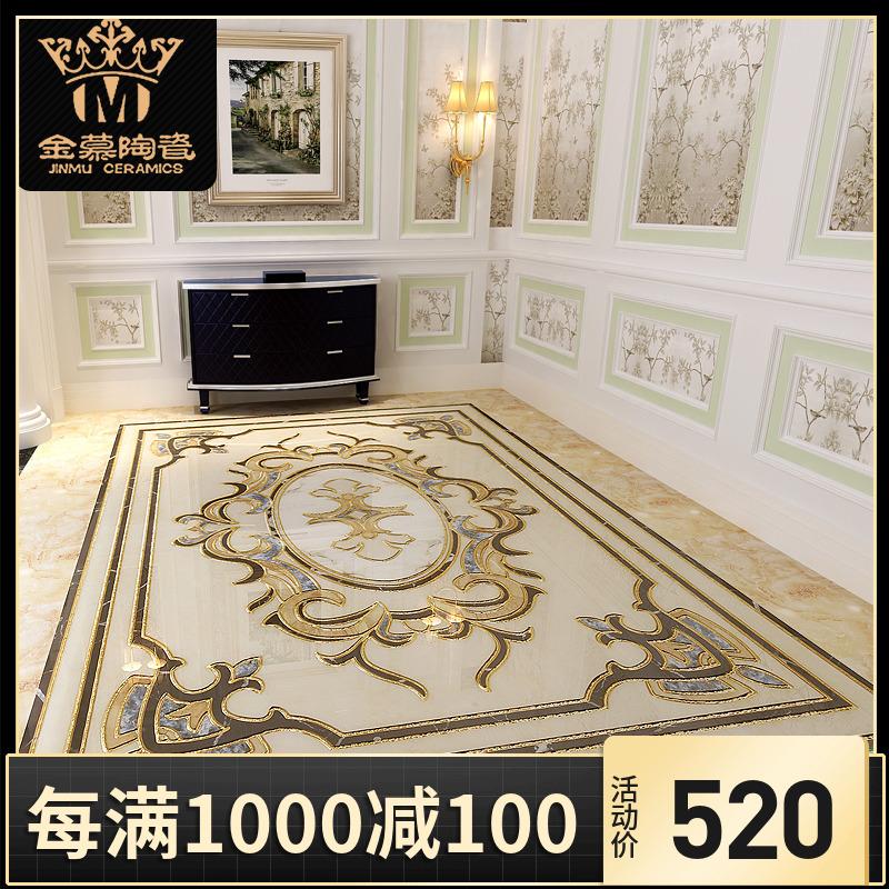 Золото восхищаться керамическая плитка позолоченный медальон вводить семья вход гостиная кирпич медальон идти галерея живая дорога керамическая плитка континентальный бросать кристалл кирпич
