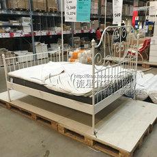 Кровать с металлическим каркасом Ikea 1.5