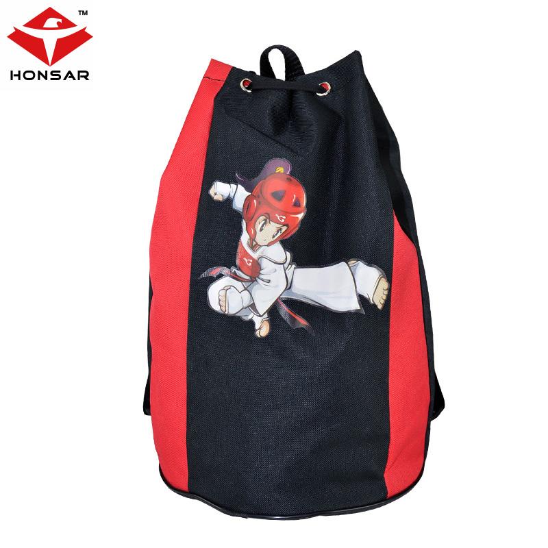 Тхэквондо пакет ребенок рюкзак тхэквондо защитное снаряжение пакет рюкзак для взрослых увеличение толстые oxford внутренний водонепроницаемый слой