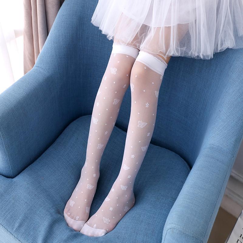77000083b Girls stockings baby children s socks over the knee summer thin ...