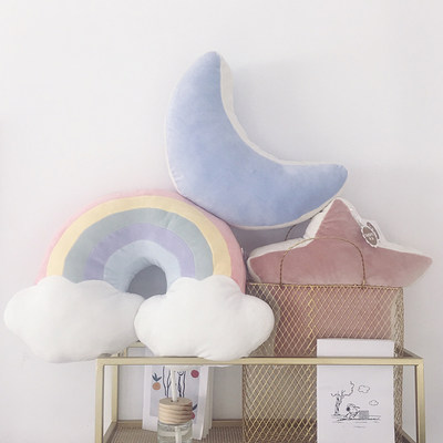 Nordic ins pillow cushion back sofa cushions bay window decoration ornaments girl heart bedroom personality pillow cute