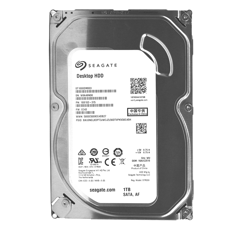 seagate / seagate st1000dm003 liter 1tb desktop computer mechanical monitoring hard drive cool eagle