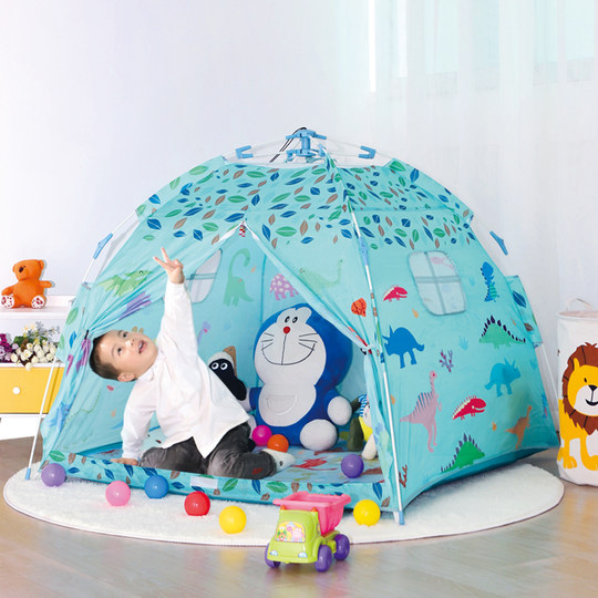 Children's tent toy house indoor and outdoor boys and girls princess house small tent play house baby bed artifact