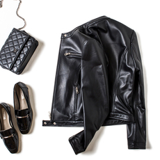 Leather jacket OTHER 8708 2017